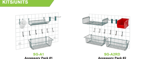 Store Grid Mounted System