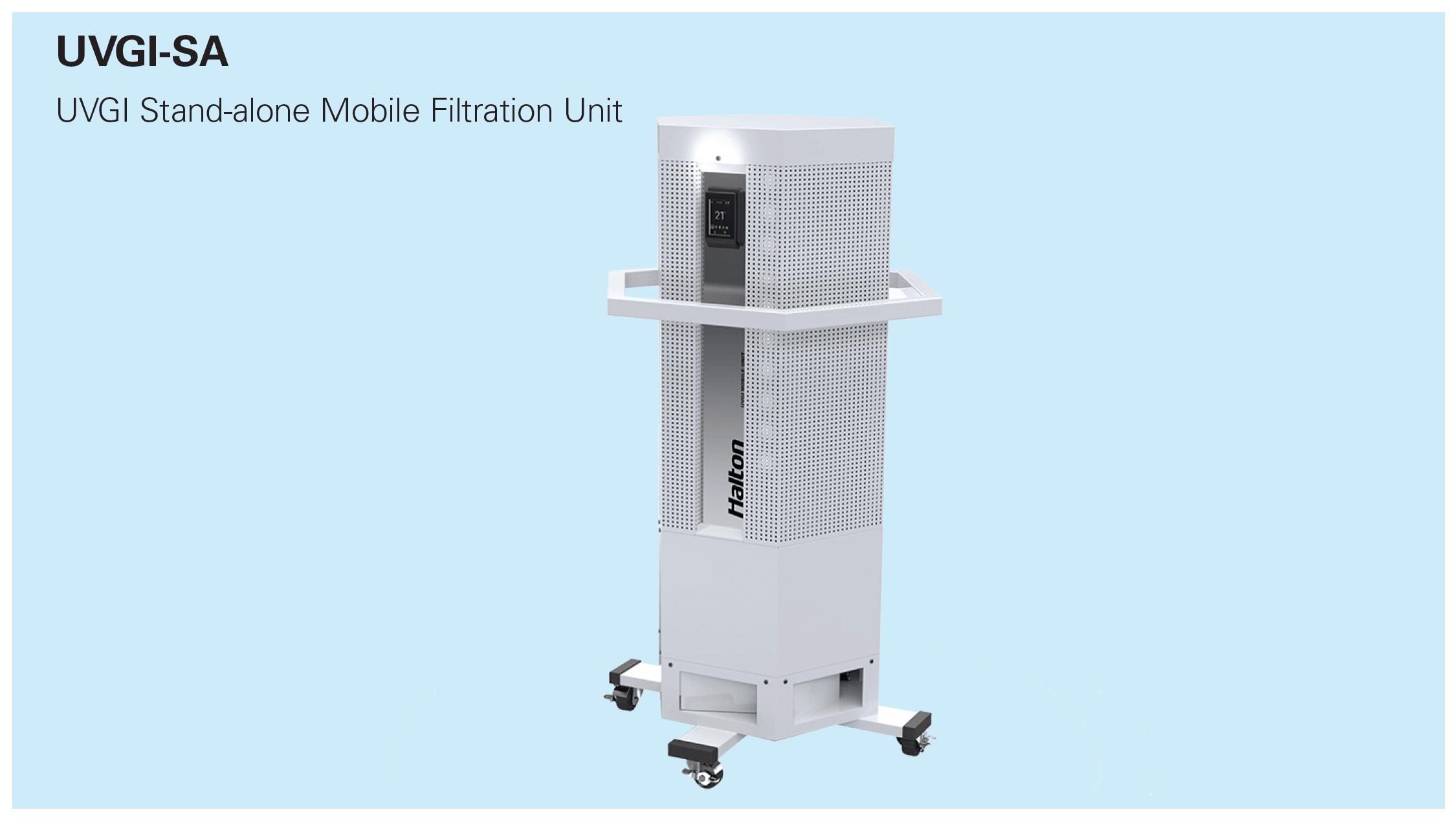 UVGI Stand-alone Mobile Filtration Unit